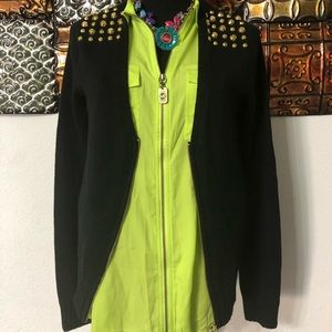 MICHAEL KORS CARDIGAN NWT$125 SMALL